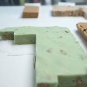 Three Blonde Bakers Pistachio Fudge
